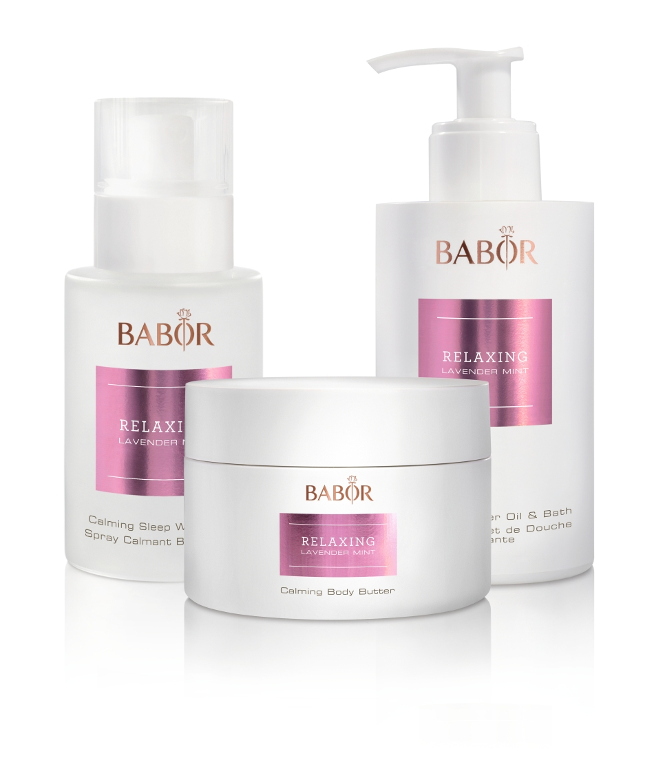 BABOR SPA RELAXING LAVENDER MINT PRODUKTMIX